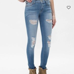 KanCan size 30 distressed jeans